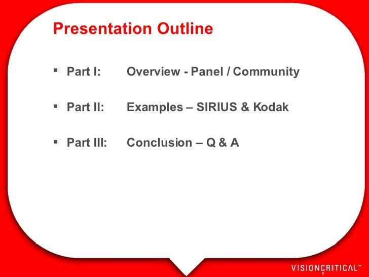 Online Panels & Community - MRE 2007 Slide 2