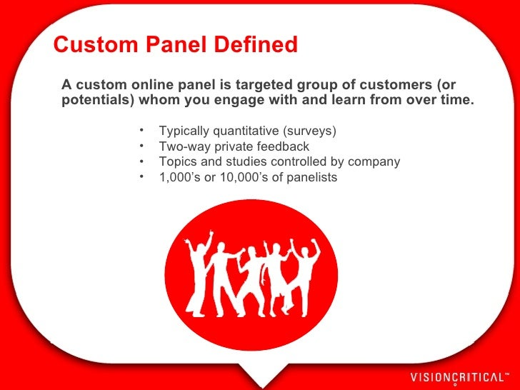 Online Panels & Community - MRE 2007 Slide 3