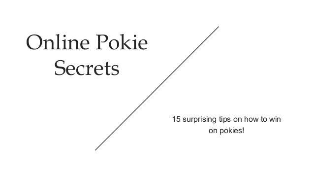 Online pokies secrets genevieve cortese oops pisc and pokies