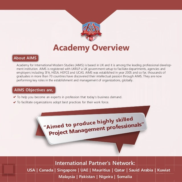 Online Project Management Diploma