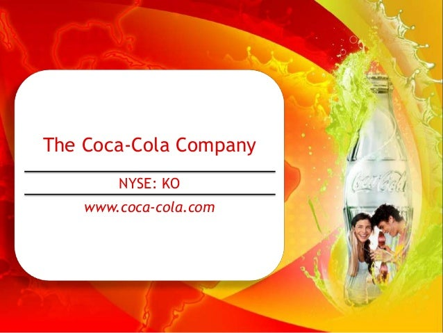 coca cola company financial results analysis The purpose of this report is to analyze and the financial position and discuss the  strengths and weaknesses of the financial operations of the coca cola.
