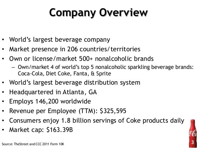 a financial analysis of coca cola Coca cola swot analysis a detailed analysis of the strengths, weaknesses, opportunities and threats of the beverages giant.