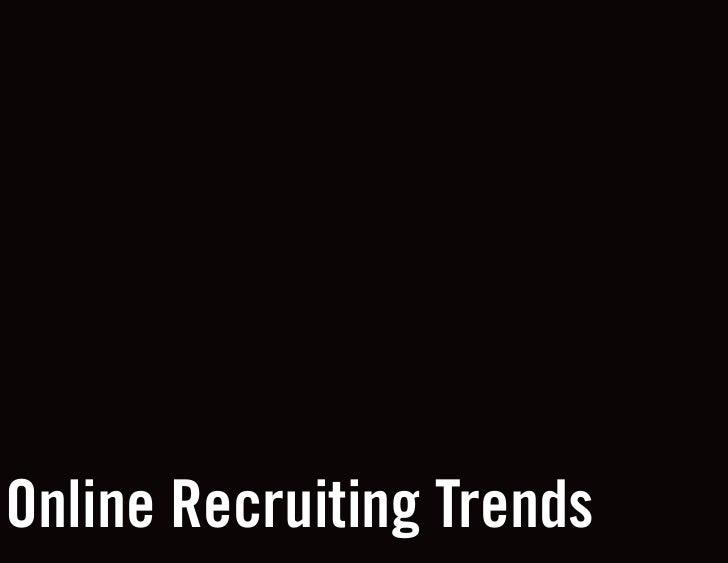 Online Recruiting Trends