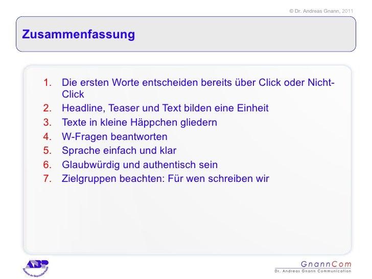 Online Texten Für Pr Andreas Gnann Abp11 08 29