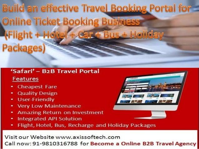 Online-Travel-Ticket-Booking-Website-Development