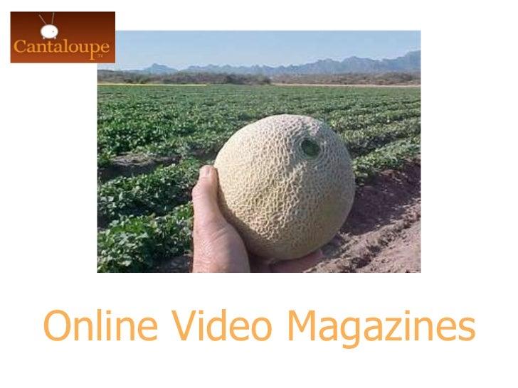 Online Video Magazines