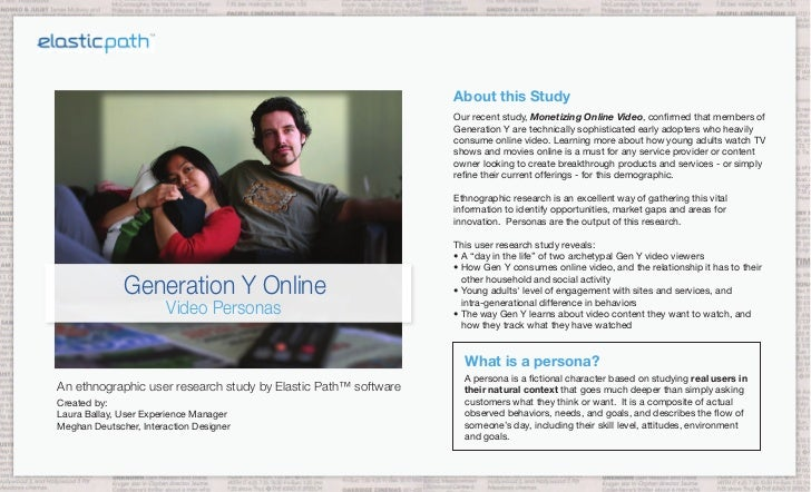 About this Study                                                                Our recent study, Monetizing Online Video,...