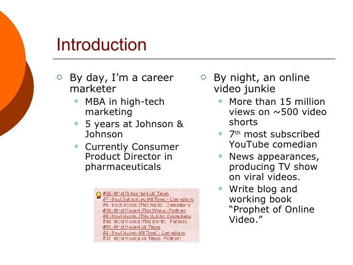 Online Video Marketing Slide 3