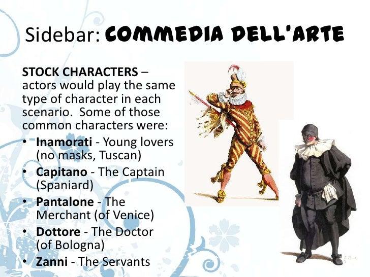 Commedia dell'Arte Characters