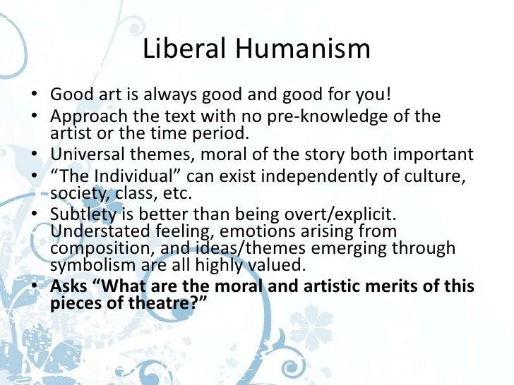 Matrix liberal humanist