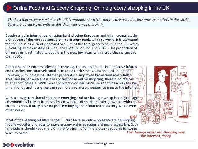 Online Shopping Websites For Food Uk