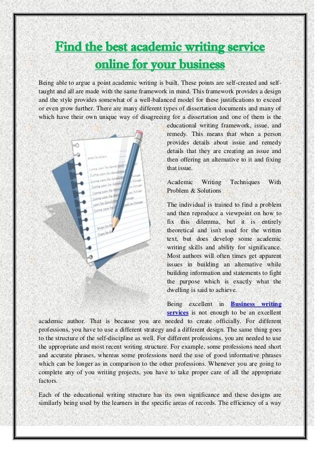 Academic writing company