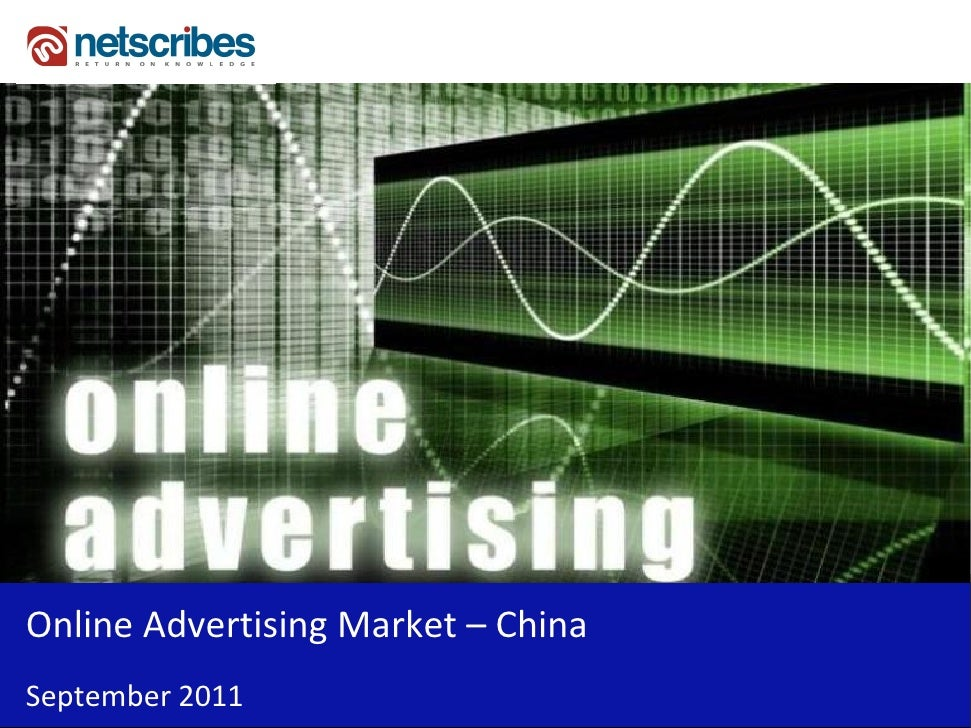 Online Advertising Market – ChinaSeptember 2011