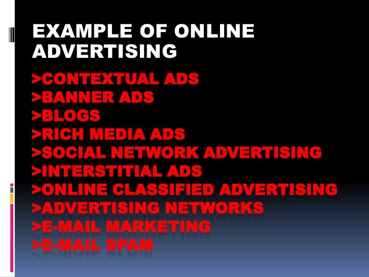 Image result for What is online advertising?
