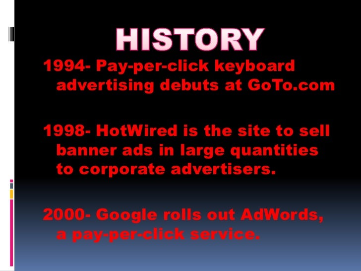 Online advertising(powerpoint)