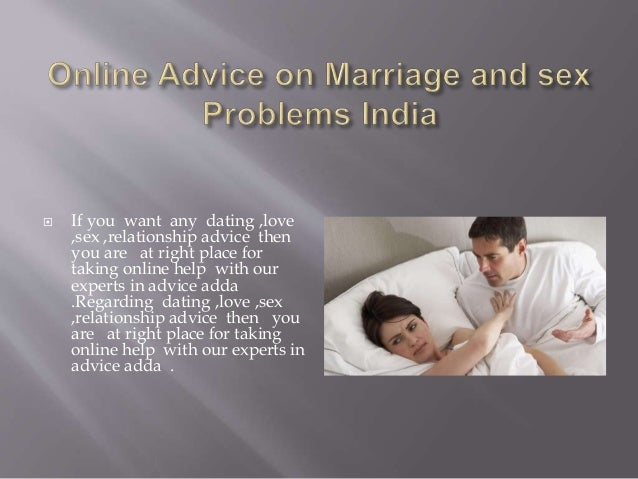 Sex dating and relationships india