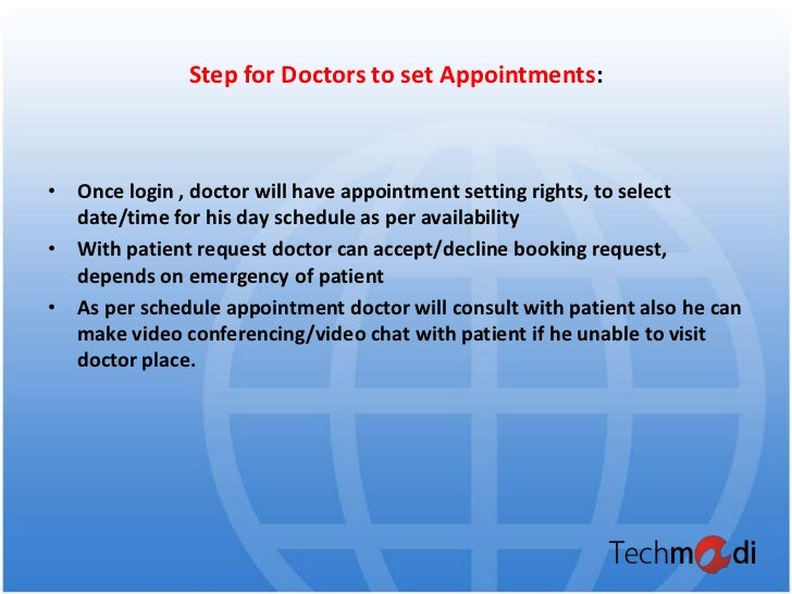 Online appointment booking_presentation _