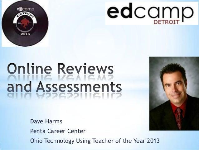 Dave HarmsPenta Career CenterOhio Technology Using Teacher of the Year 2013