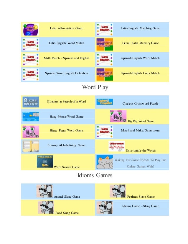 English Word Match 6 Latin Abbreviation