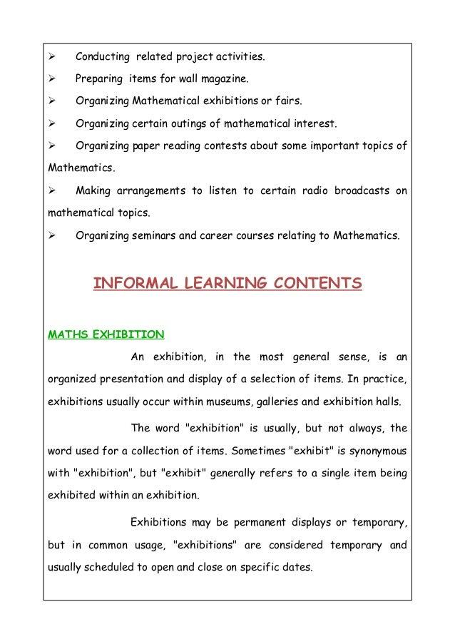 Online assignment mathematics club