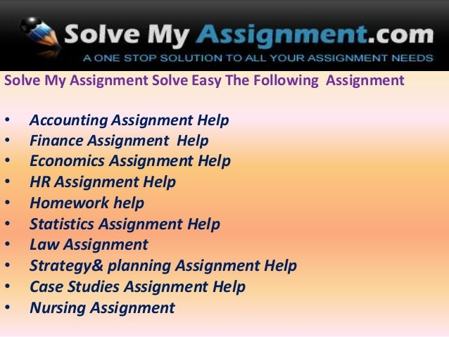 Online Assignment Help Usa To The Students Of All Stream     sasek cf