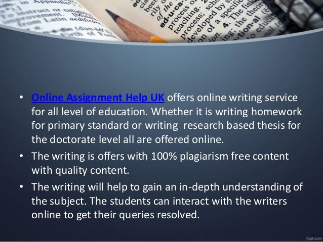 Assignment Help UK-Assignment Writing Services @25% Off