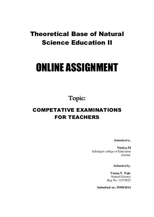 Online assignment veena