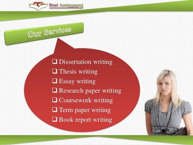 Professional dissertation writing