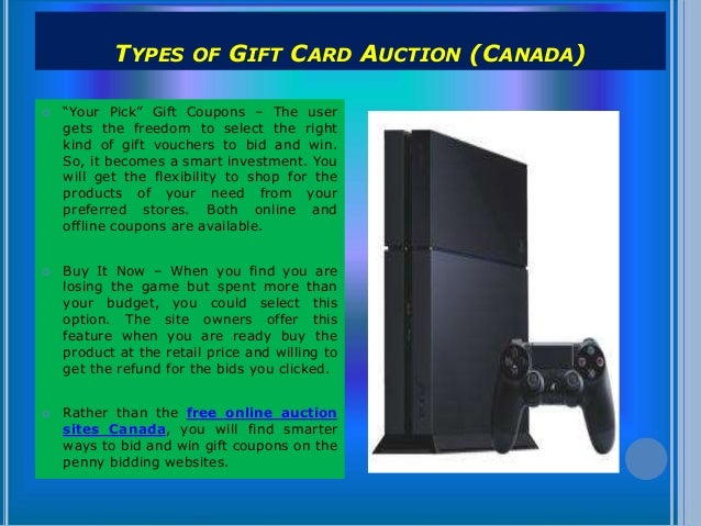 Penny Auctions Canada