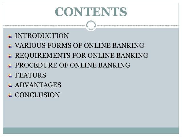Online banking Slide 2