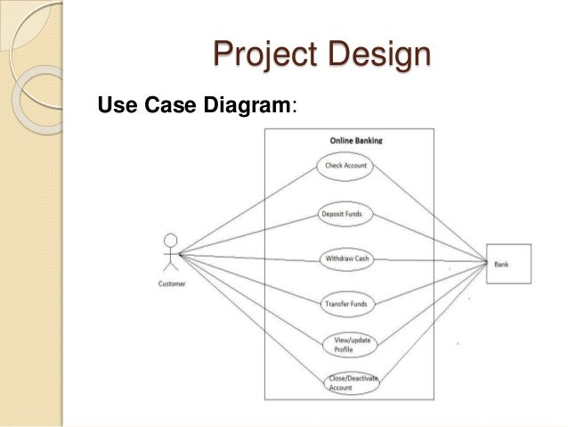 Use Case Diagram For Online Banking Diy Wiring Diagrams