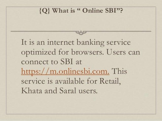 online sbi saral
