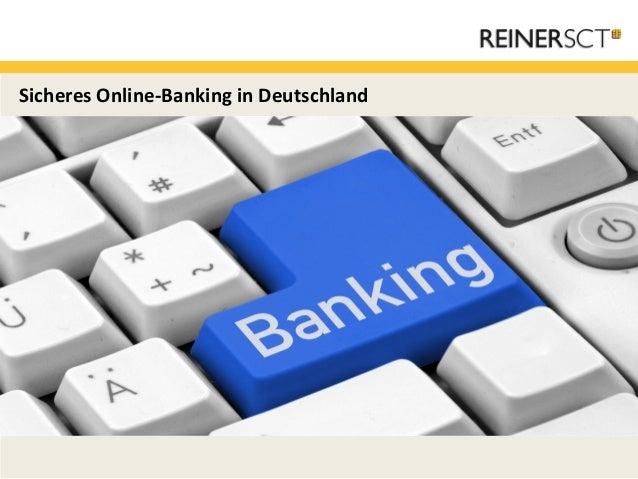 Sicheres Online-Banking in Deutschland