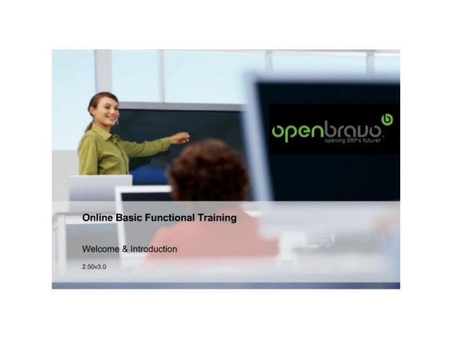 Online basic functional training