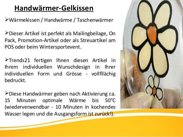 Handwärmer-Gelkissen Wärmekissen / Handwärme / Taschenwärmer Dieser Artikel ist perfekt als Mailingbeilage, On Pack, Pro...