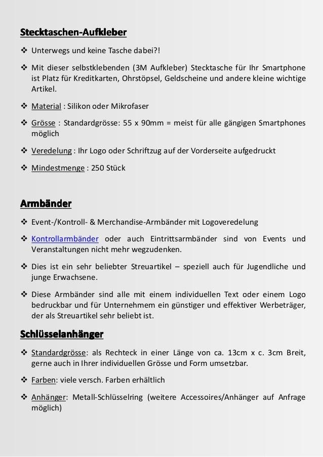3 Online bestellen Werbeartikel aus Trends21 Trends21 (C) Copyright (3. August 2015) Stecktaschen-AufkleberStecktaschen-Au...