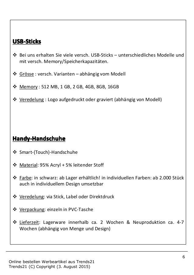8 Online bestellen Werbeartikel aus Trends21 Trends21 (C) Copyright (3. August 2015) HandwHandwHandwHandwäääärmer-Gelkisse...