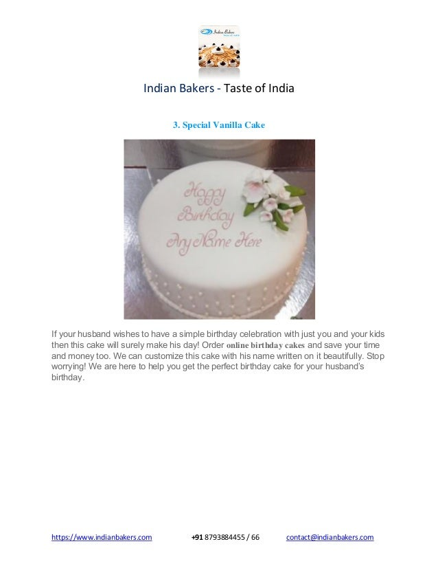 Online Birthday Cake Delivery In Mumbai