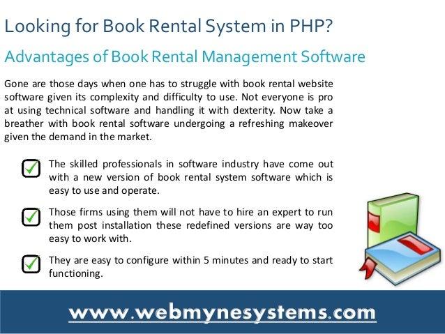 online book rental system