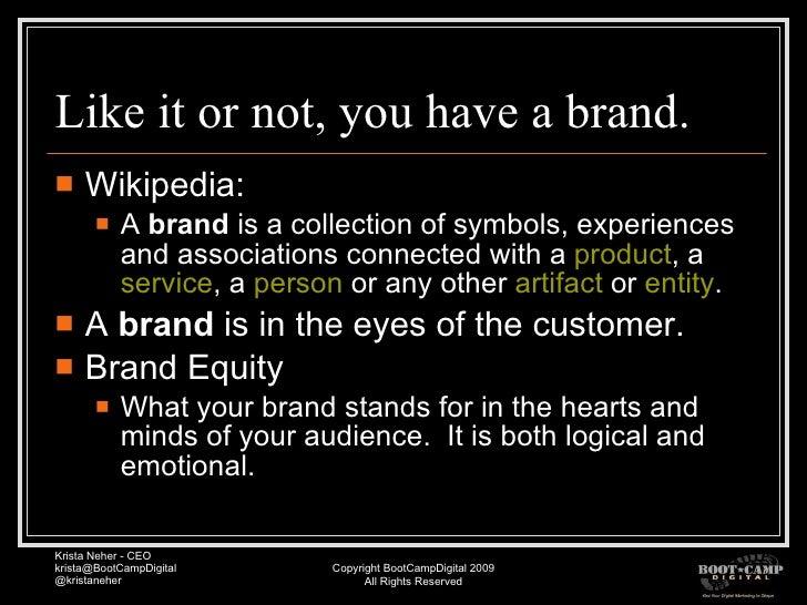 Online Brand Management Pubcon Vegas09 Slide 3