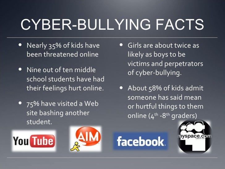 what is cyberbullying facts