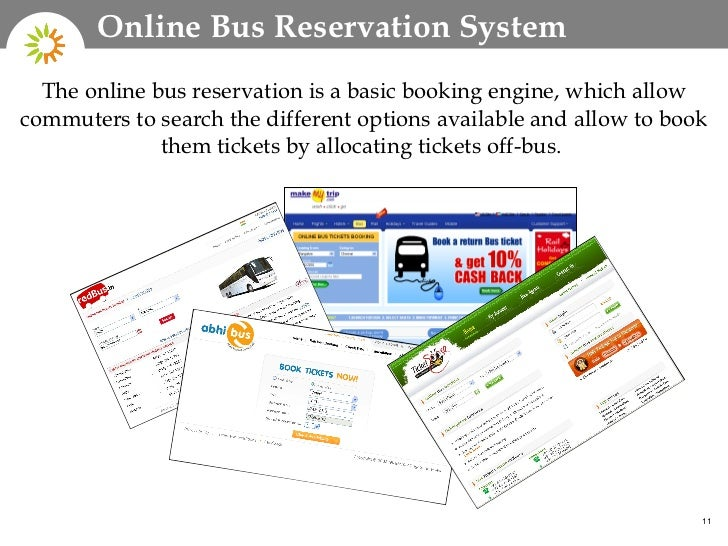 online bus ticket reservation system pdf