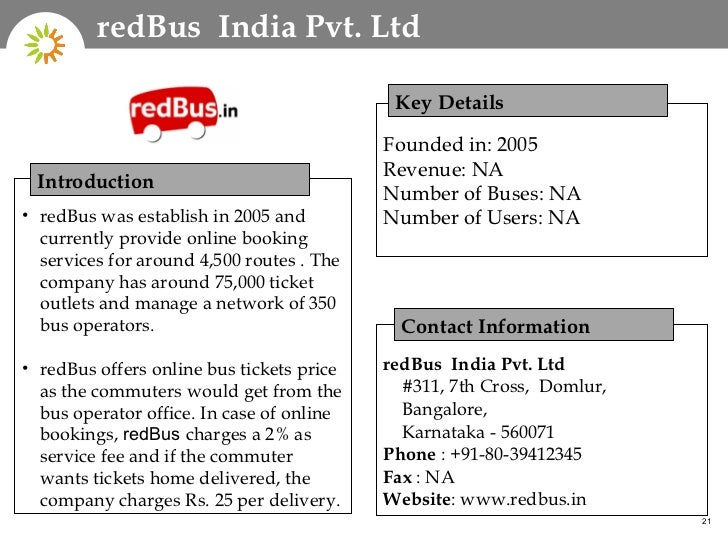 Online Bus Reservation System in India – Redbus Ticket Print