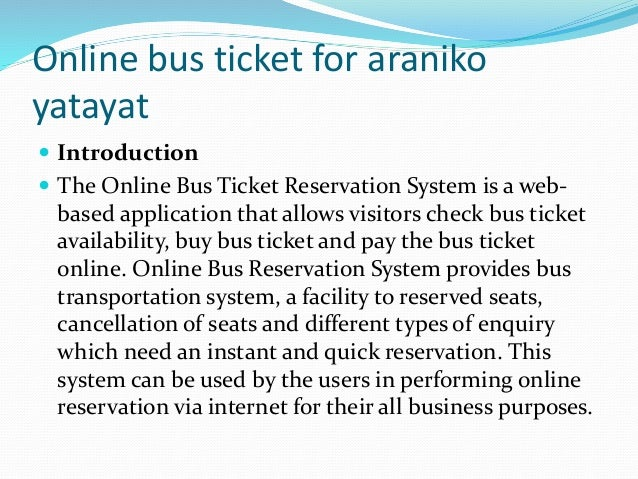 Online Bus Ticket For Araniko Yatayat Bashu
