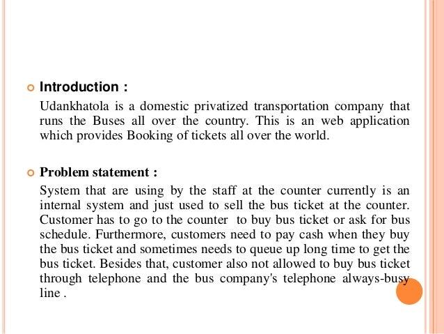 Problem statement for online shopping management system
