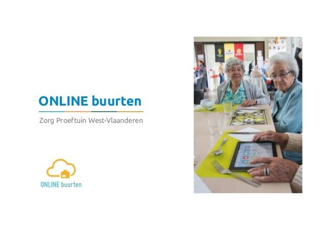 ONLINE buurten Zorg Proeftuin West-Vlaanderen
