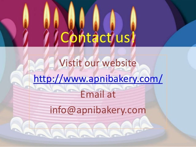 List Top 3 Cake Delivery Brands In Chandigarh 8 Contact Us