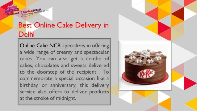 8 9 Best Online Cake Delivery