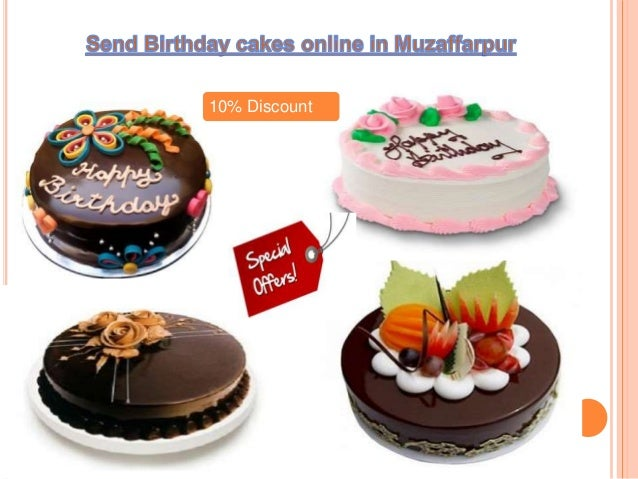 Choose flickkar Send Birthday cakes online to your loves one in Muzaf
