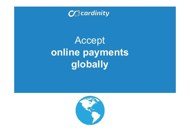Accept online payments globally